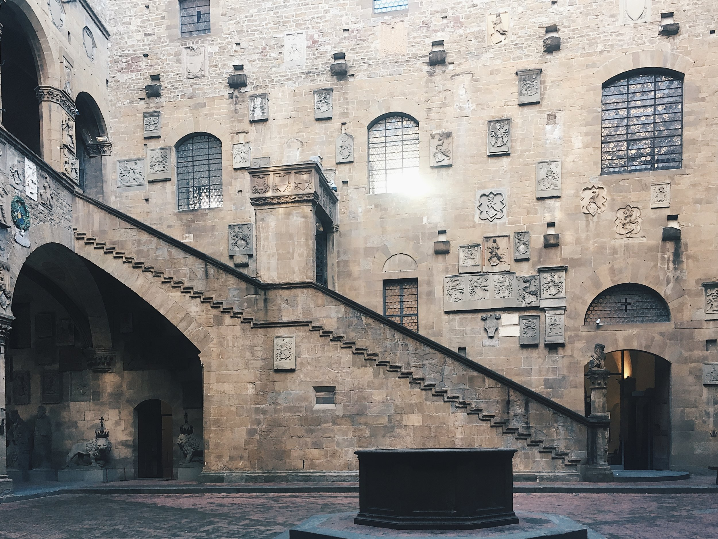 Museo Nazionale di Bargello, photographed by Rory Mara.