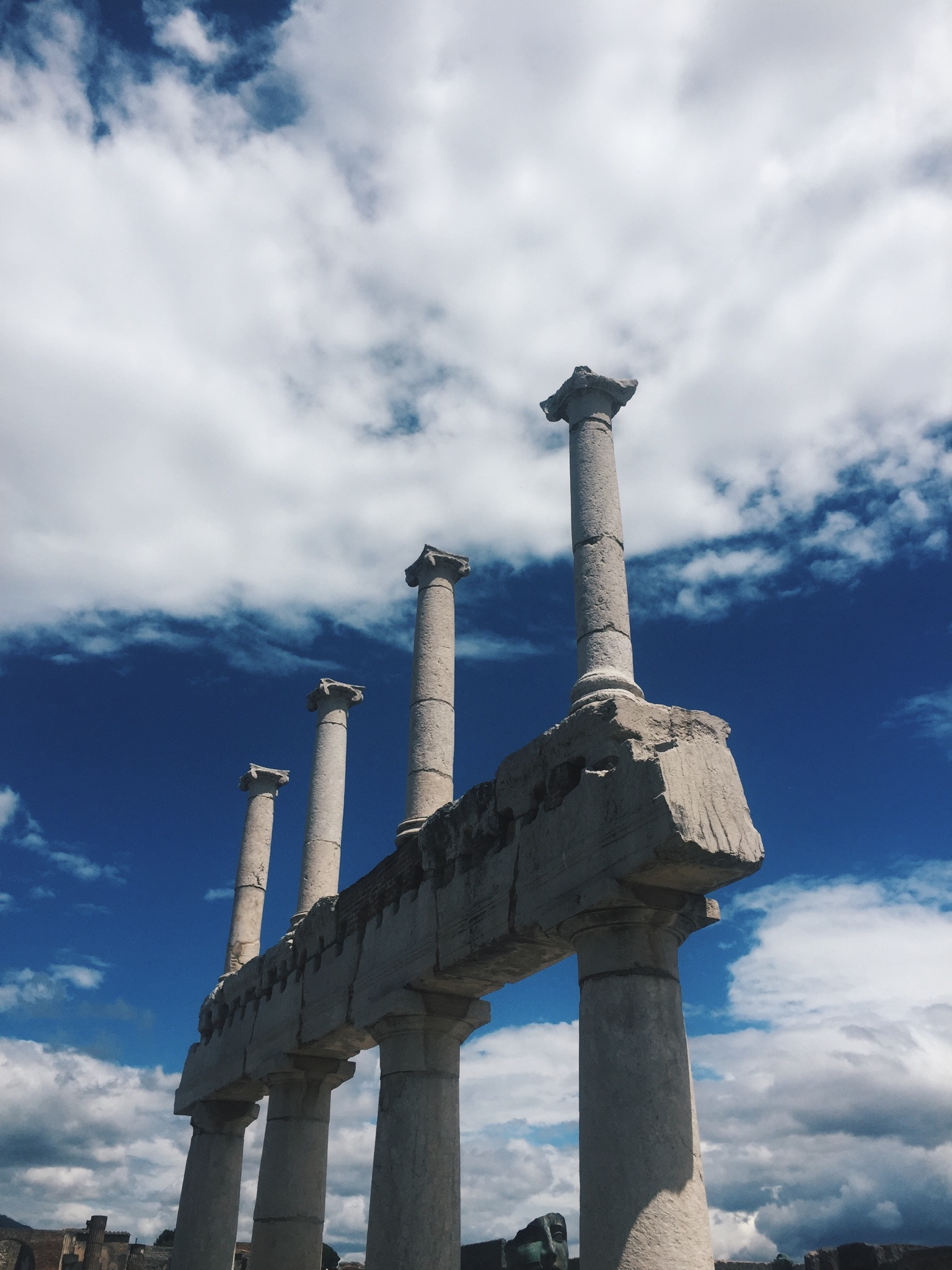 The Ionian Columns, photo by author.