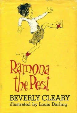 First edition cover of  Ramona the Pest  (1968)