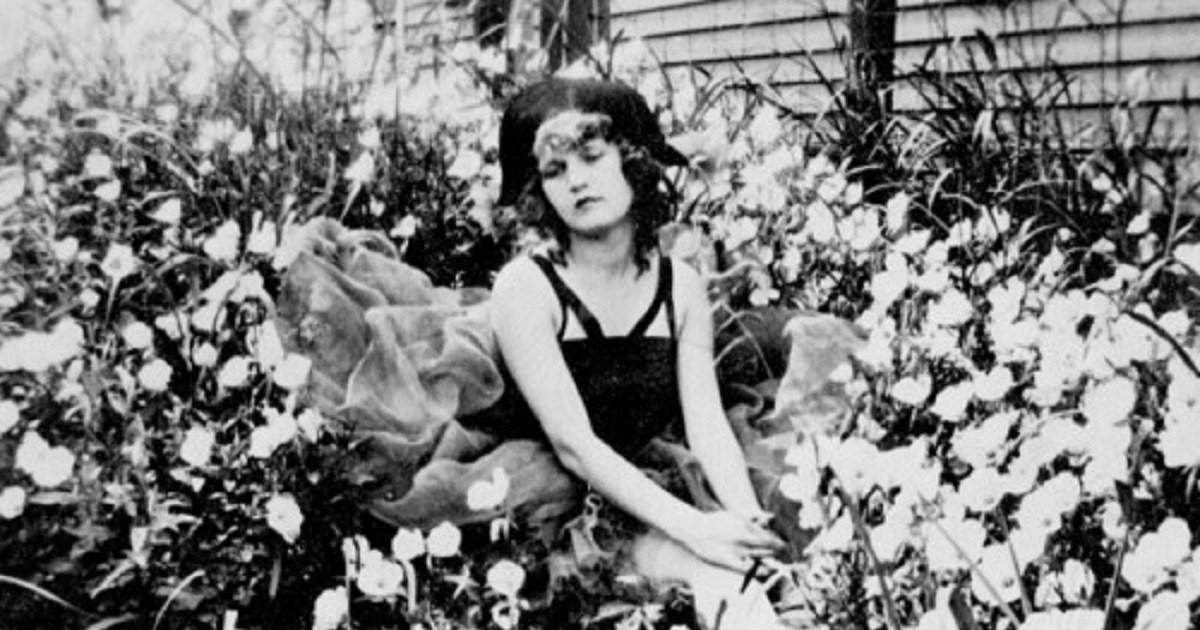 Zelda Fitzgerald as a teenager.