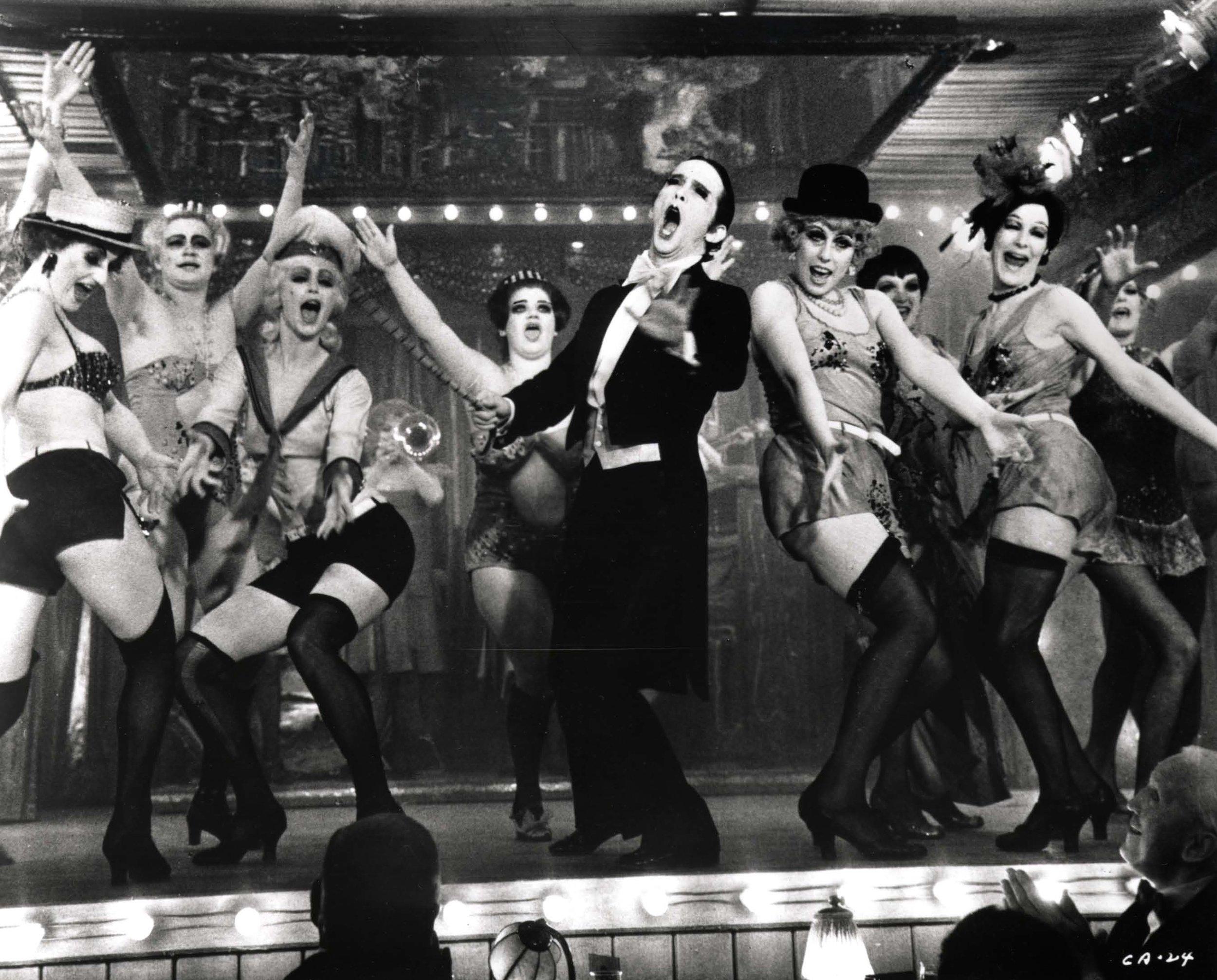Dancers at the KitKat Club, Cabaret (1972).