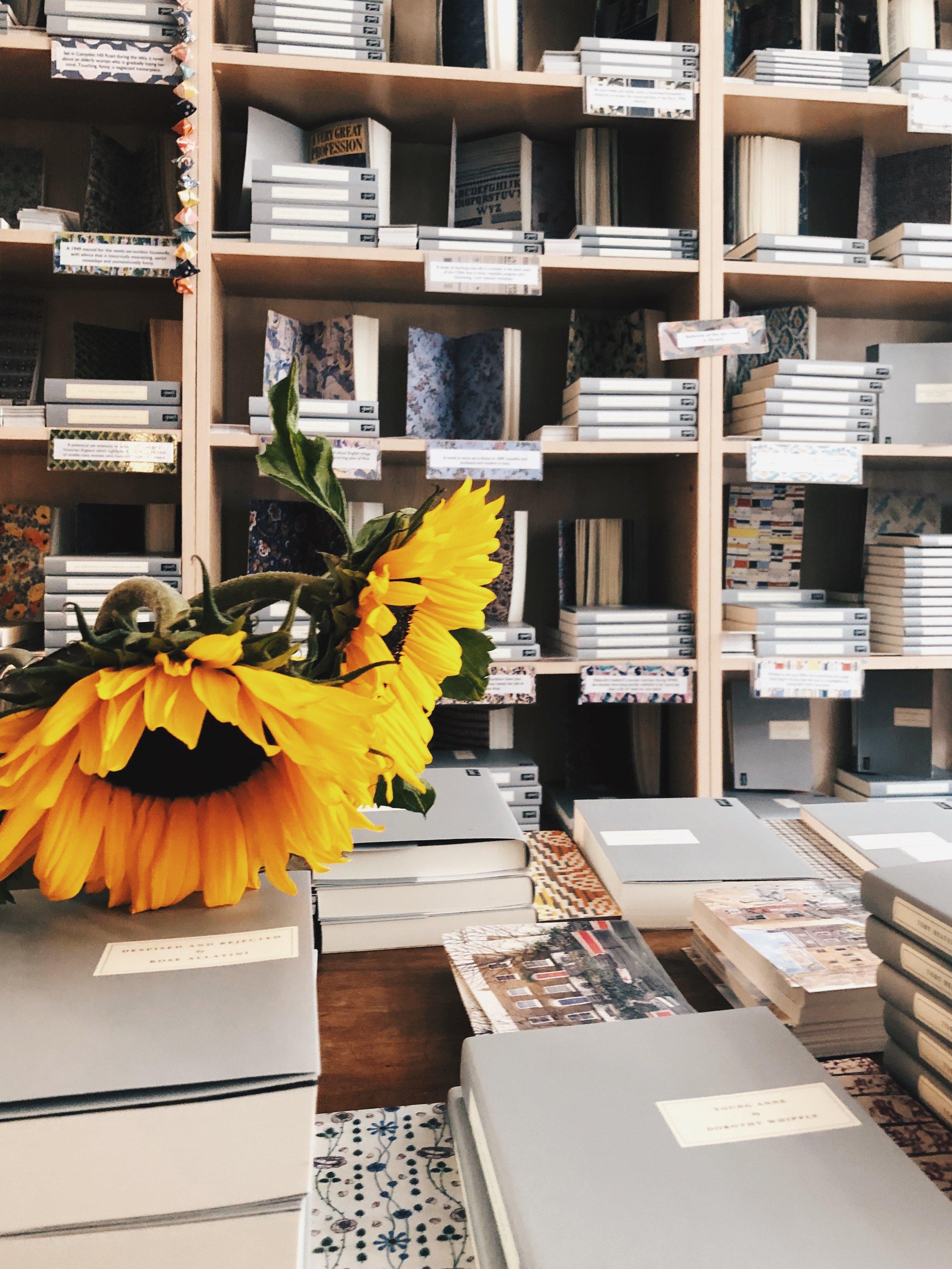 Persephone Books. Photo courtesy of M. A. McCuen.