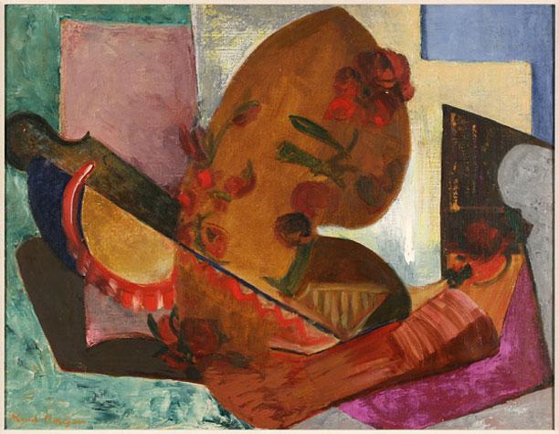 Maud Morgan, Studio Still Life (1940).
