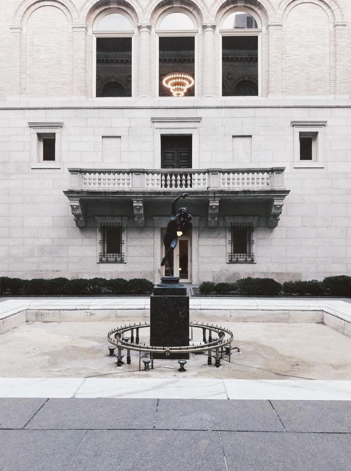 Boston Public Library, photo courtesy of Sam Cohen.