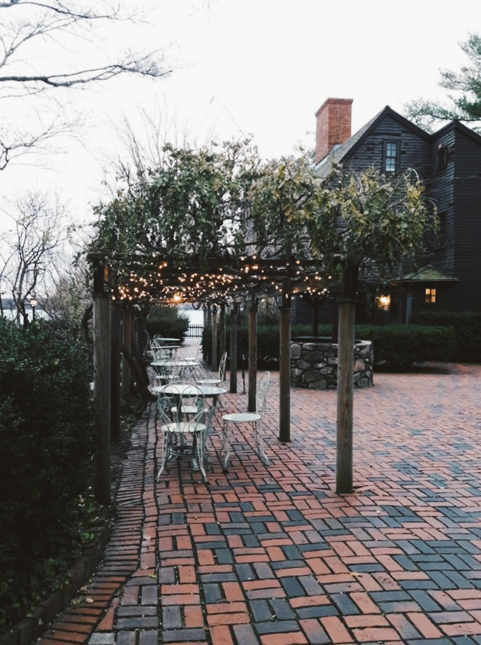 The House of the Seven Gables in Salem, MA; photo courtesy of Sam Cohen.