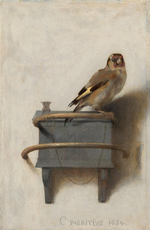 Carel Fabritius, The Goldfinch (1654).