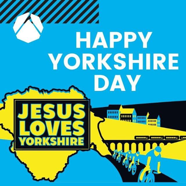 #JesusLovesYorkshire #YorkshireDay