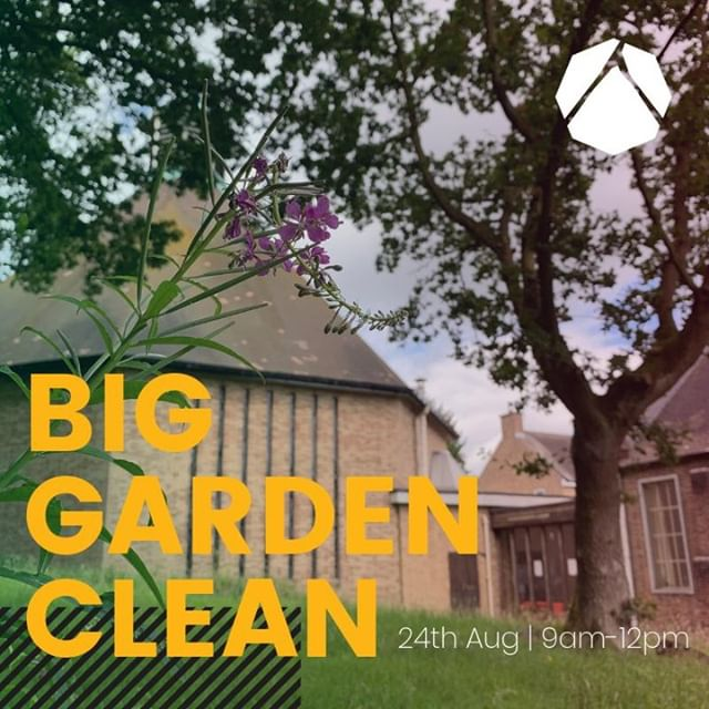 Enjoy pulling weeds and spending time in the Yorkshire sun? In prep for the community day we want to give the garden a spring (late summer) clean. Plan is 9am-12pm on Satuday 24th August. Bring your own gloves and tools. Tea, coffee and biscuits provided. Join us for as much or as little as you can.