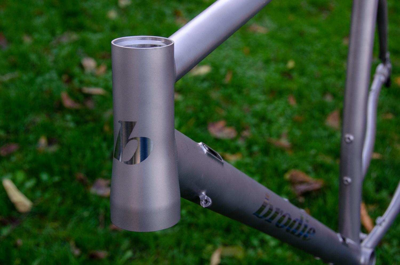 Ti Romax Frame Detail head tube.jpg