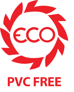 No toxic PVC is used in these products