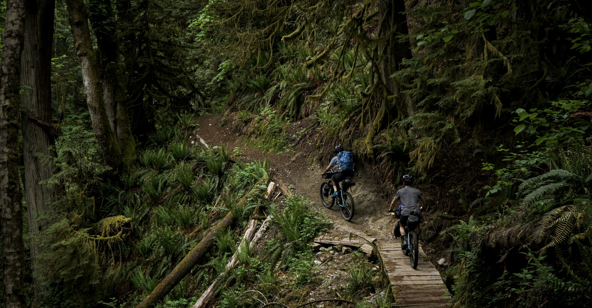 ICESEND: Sunshine Coast Trail - Bike Packing from Vancouver
