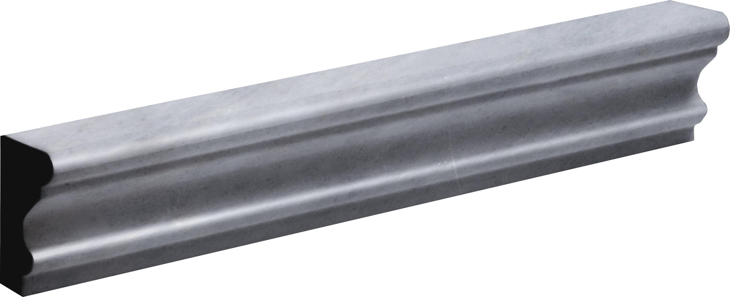 "ML00786 allure light polished andorra molding 2""x12""x1"""