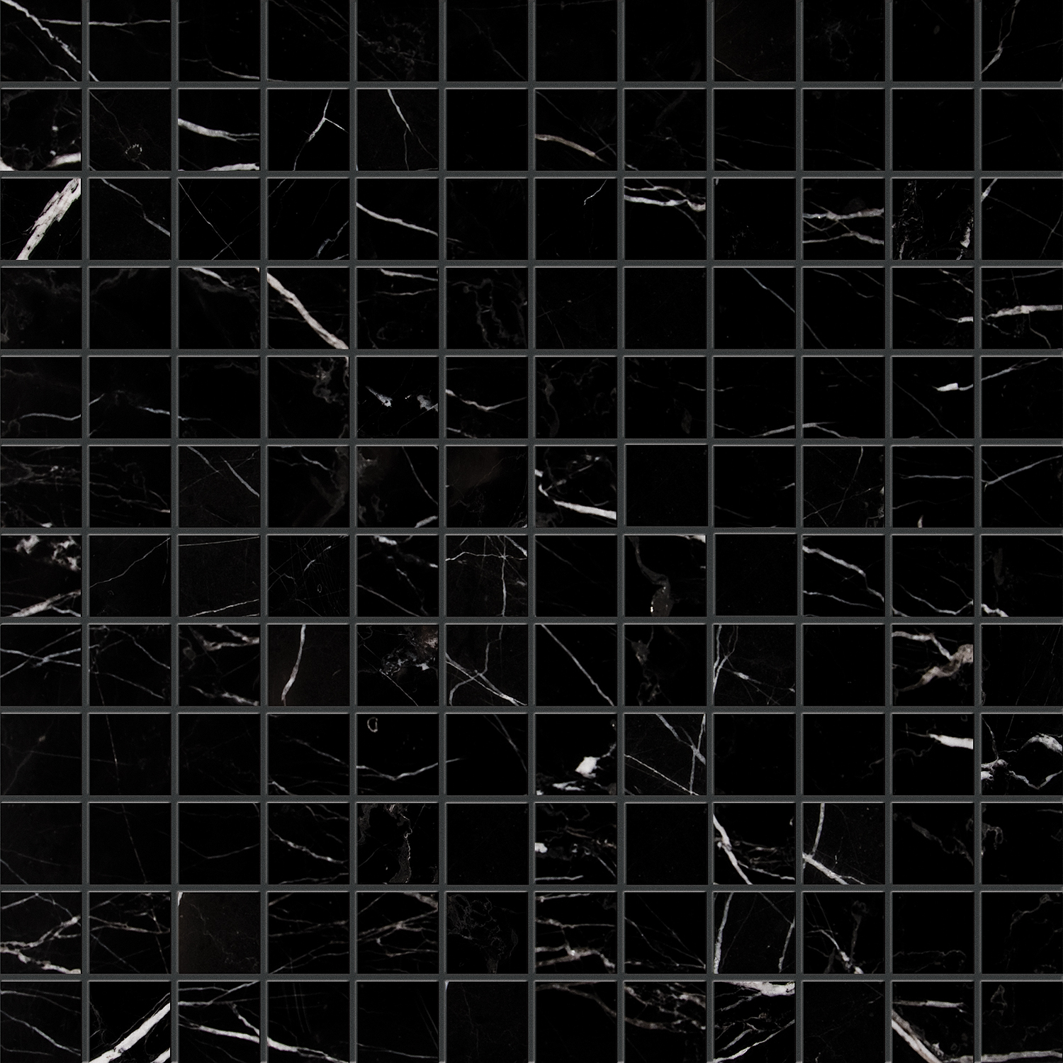 "MS90086 black polished 1""x1"" 12""x12""x3/8"" sheets"