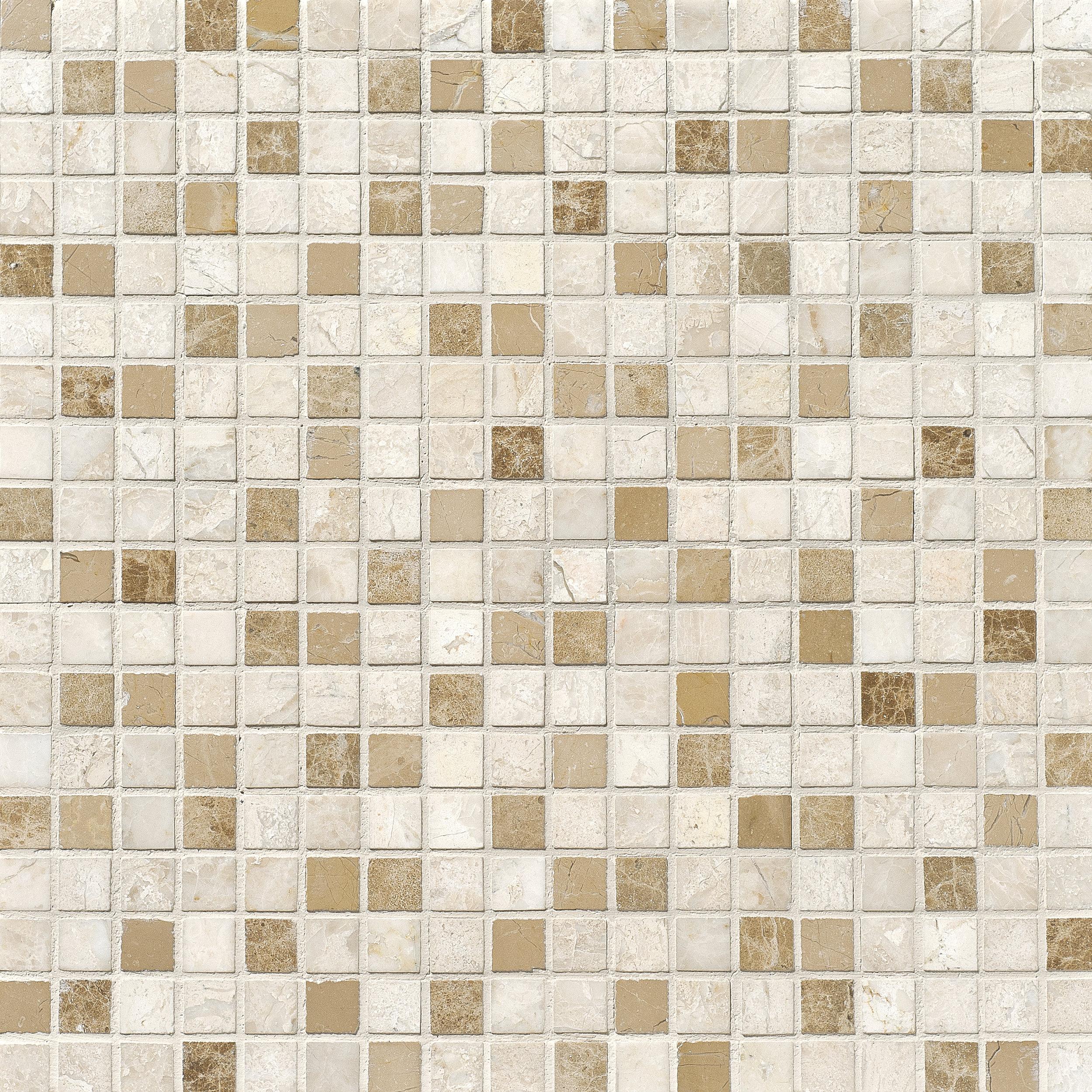 "MS01170 diana royal modern polished staggered mosaic 1 1/4""x6"" 12""x12""x3/8"" sheets"