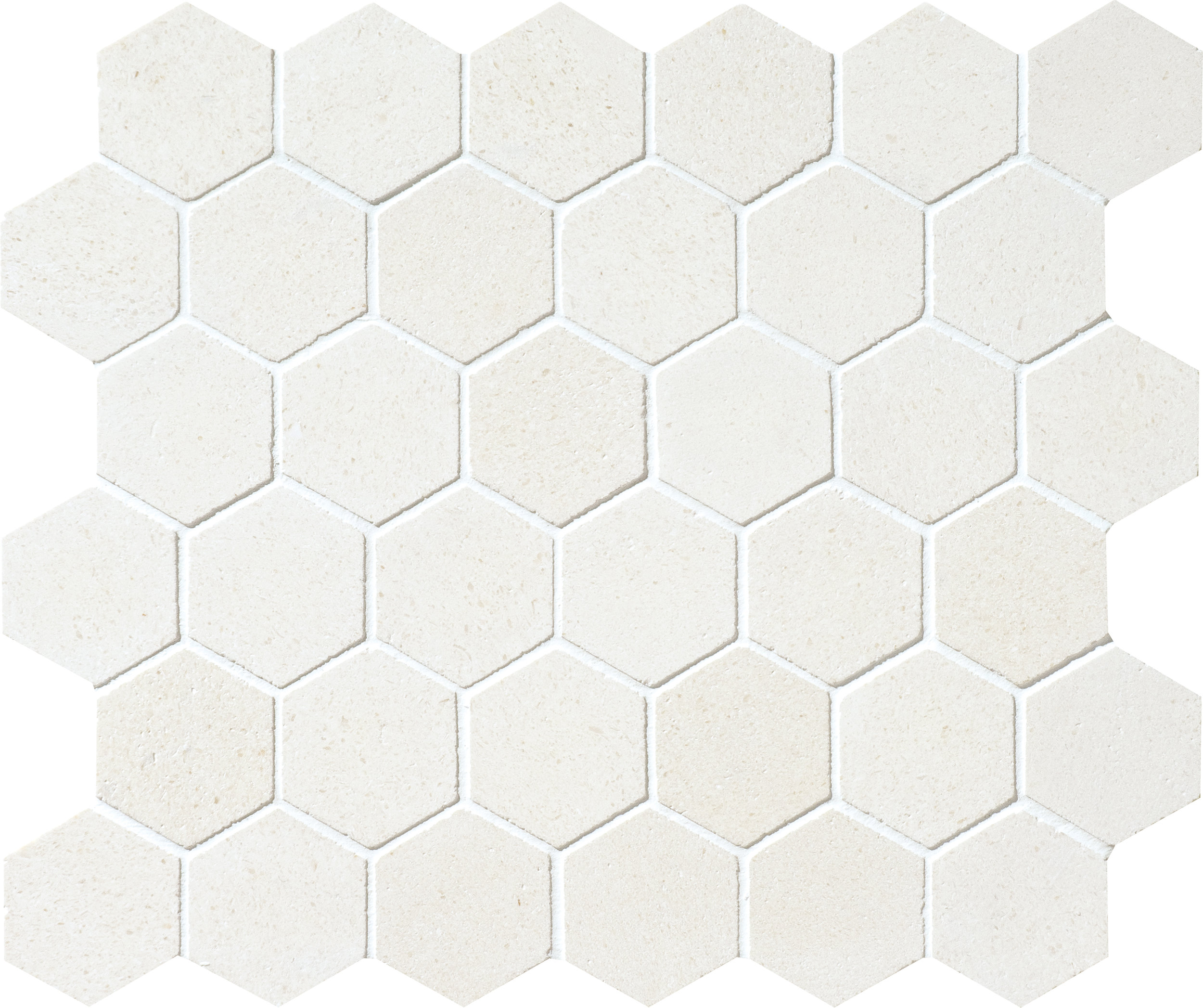 "MS00863 champagne honed hexagon 2"" 10 3/8""x12x3/8"" sheets"