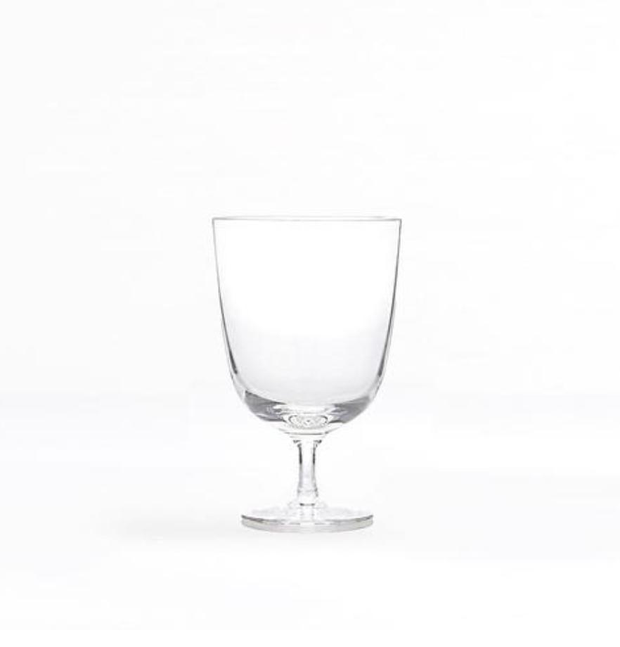 venezia hand blown water glass