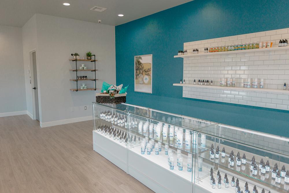 10932 NW Expressway CBD Plus USA Store Interior