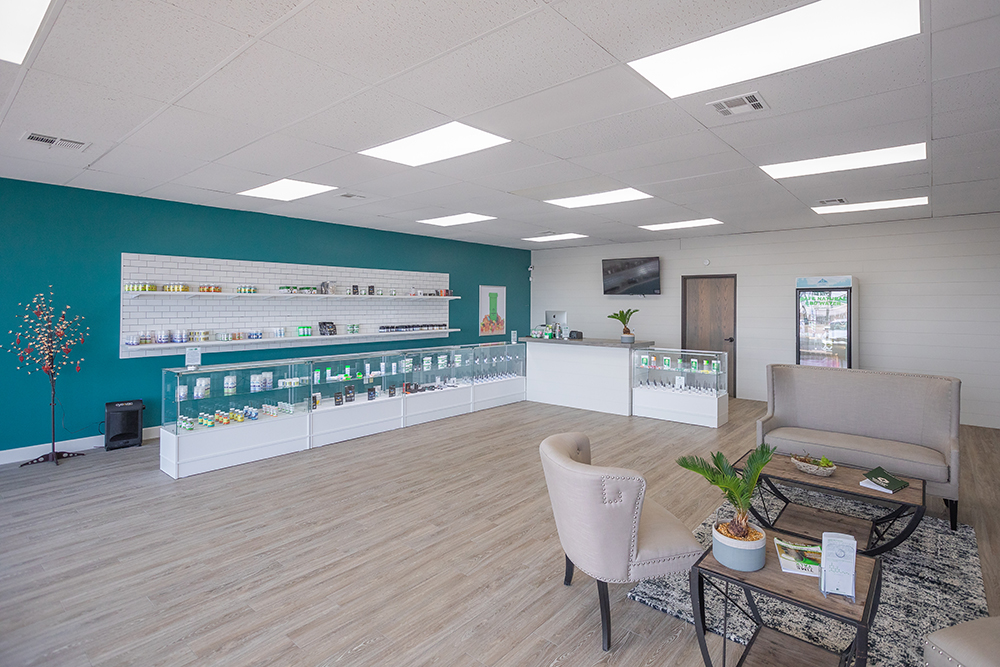 1419 N Main CBD Plus USA Store Interior