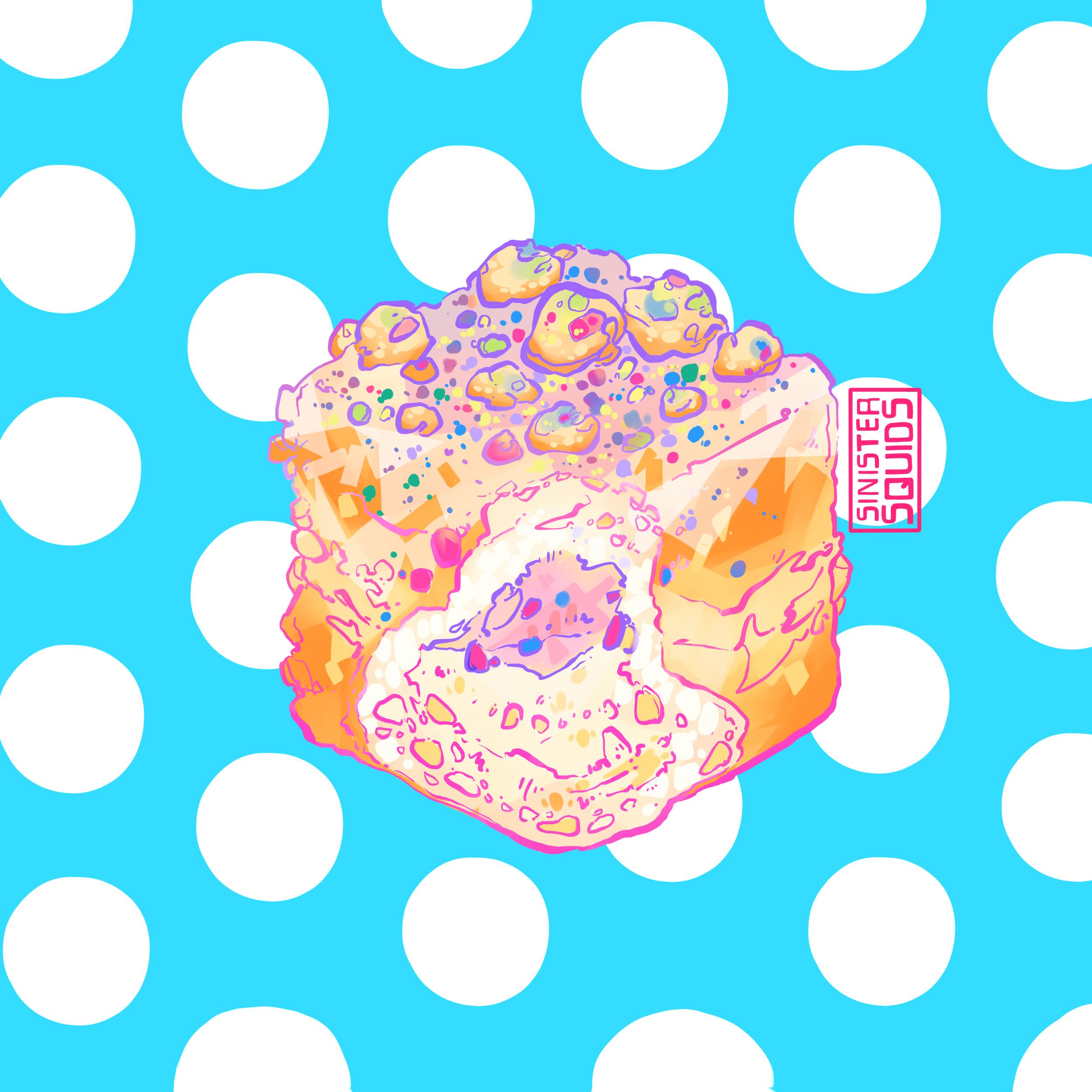 Birthday Doughnut |  Sticker Form