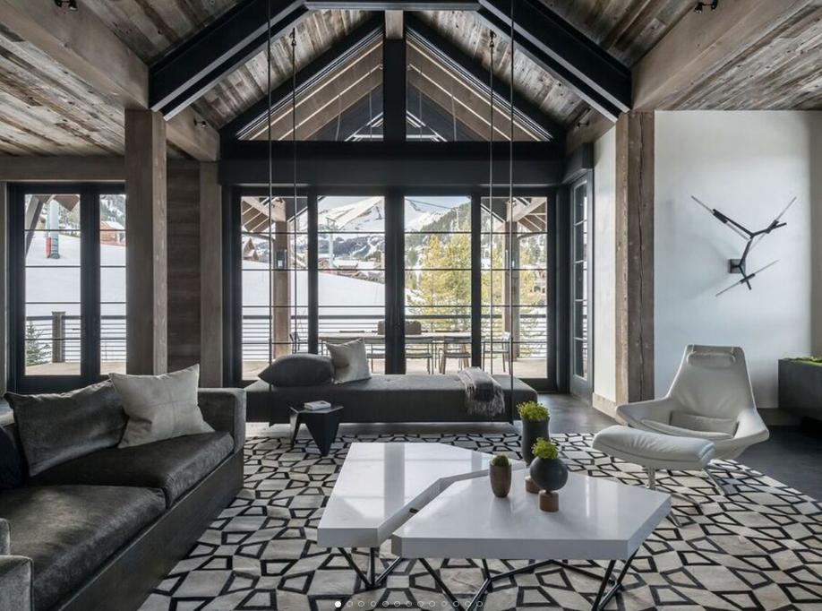 Cabin Agatha helped conceptualize with John Vancheri Interior Design