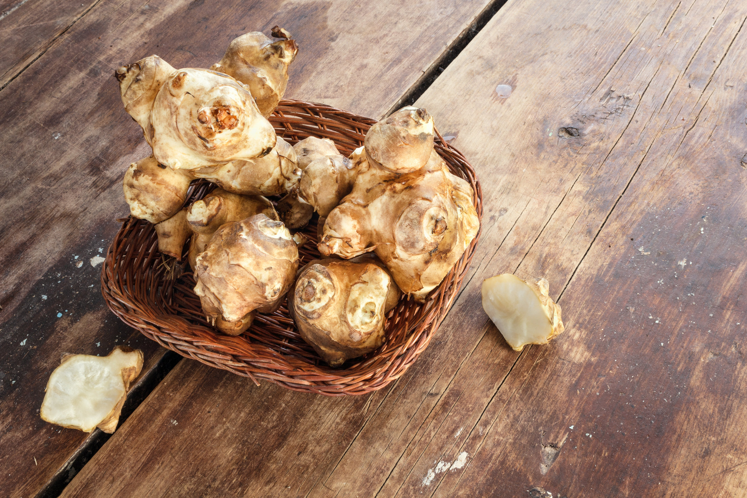 local Jerusalem artichokes