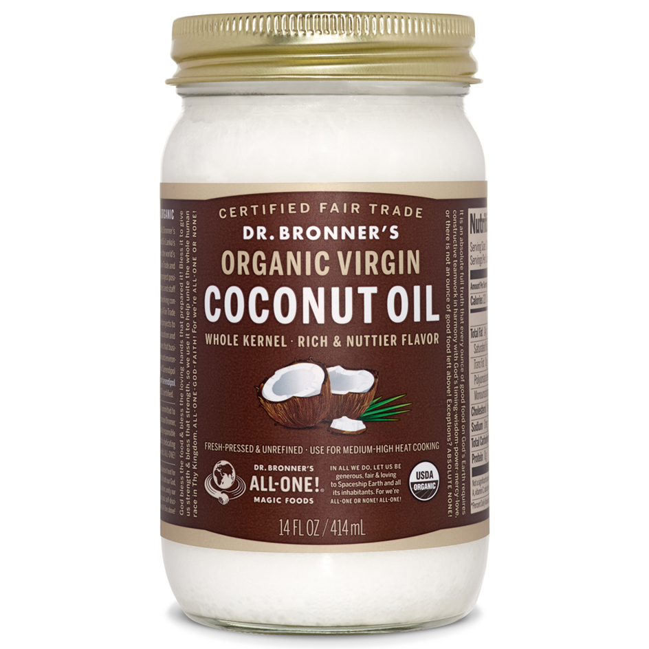 As you may have guessed, Dr. Bronner's is one of our favorite coconut oil brands, and we are proud to carry quite a few of their products at Vineyard Grocer!!