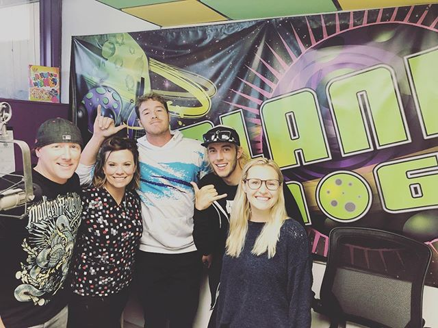 We were up bright and early this morning chatting with  Casey and Sarah from @themorningplanet1067 and Willy from MY105.9! Our pal Lindsay from @downtownbillings_ joined us and lot was covered between misheard song lyrics and our Billings Alive After 5 debut tomorrow at Tiny's Tavern! Tomorrow at 5, we'll see you there for some dancing, some jamming, and an all around fantastic time! 😎🙌😎