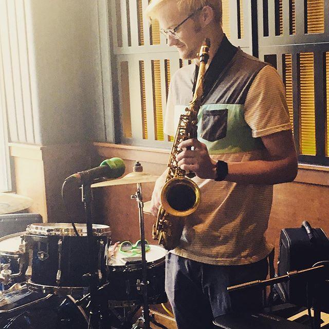 Enjoy some saxophone at Walkers tonight!