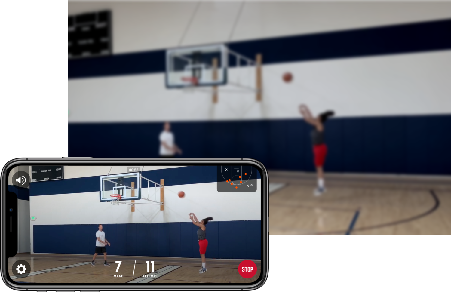 homecourt basketball shot tracker app
