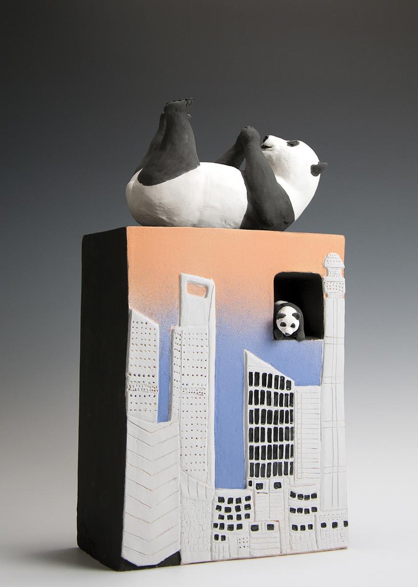 Panda in the City