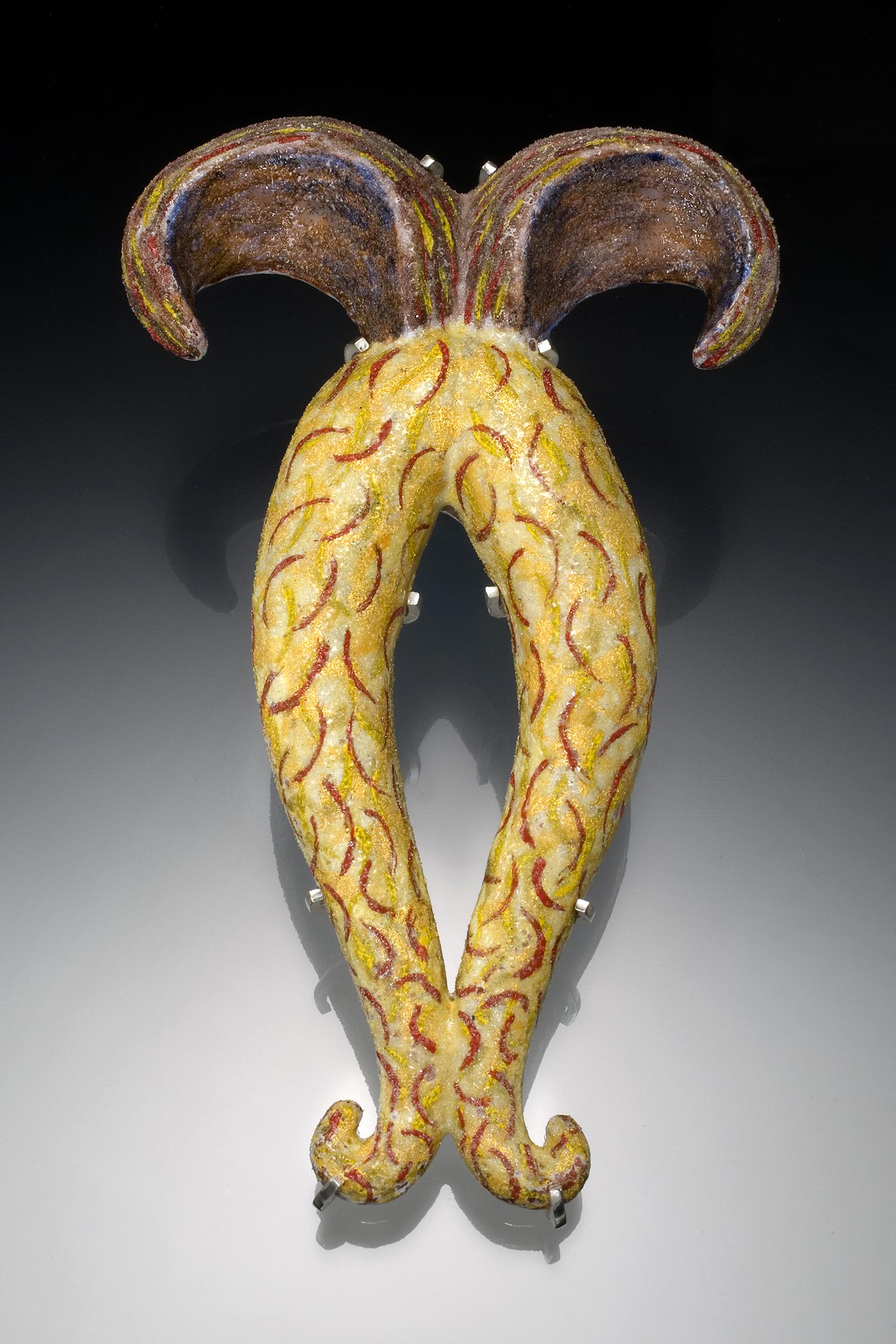 """""""Golden Horn"""" Brooch"""