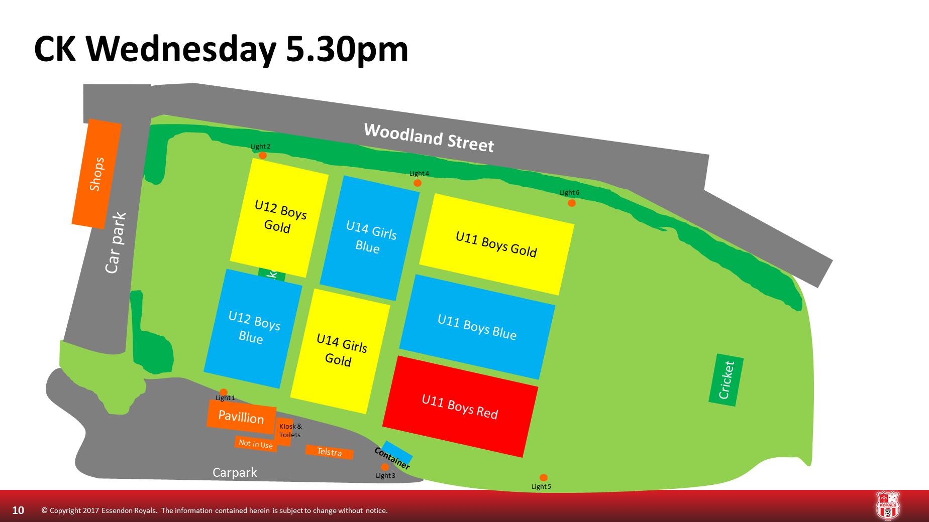 Wednesday 5.30 Cross Keys
