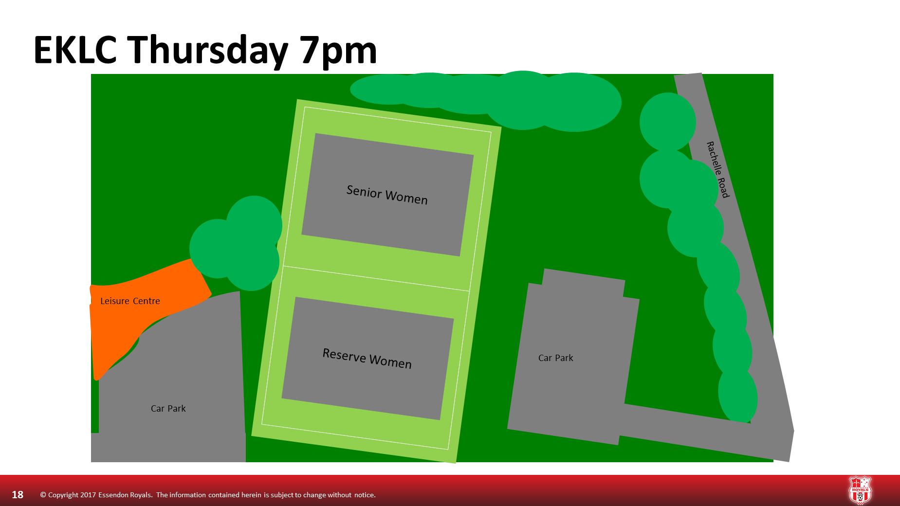 Thursday 7pm East Keilor Leisure Centre