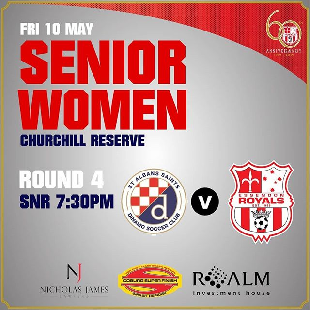 ✏️MATCH PREVIEW✏️ | Our senior women are back in action this Friday night when they travel to Churchill Reserve to take on @albans_st. Hear from our senior women's coach Johno Clemente ahead of the game -  http://bit.ly/2H4zCk5