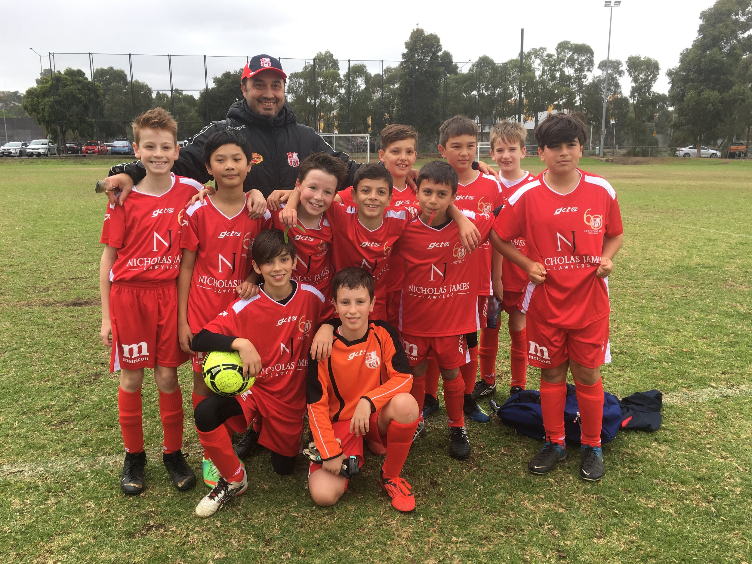 Our under-11 Reds picked up another win this weekend! Thanks for the pic, Sonia La Vita.