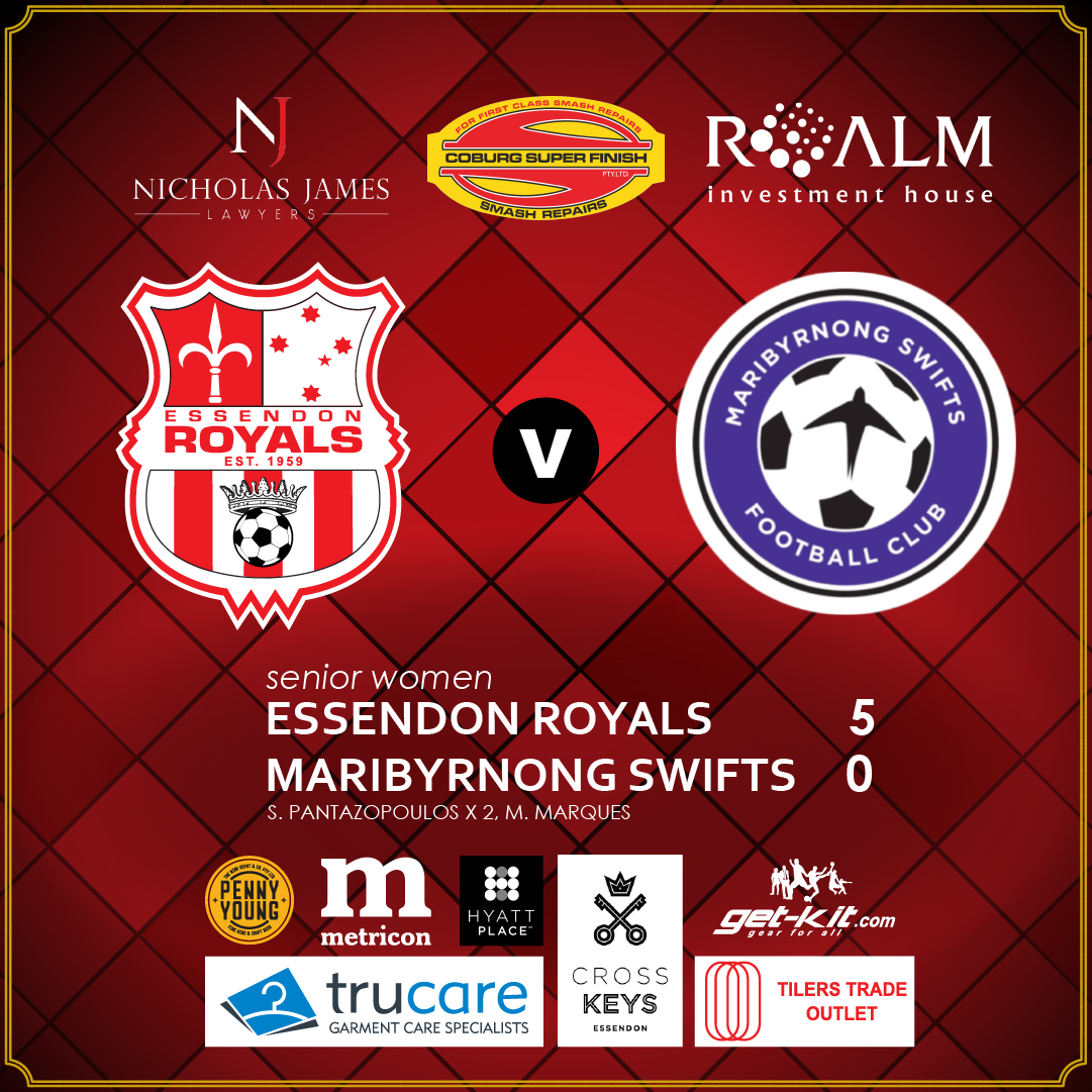 Royals Deliver Swift Justice To Maribyrnong | Match Report