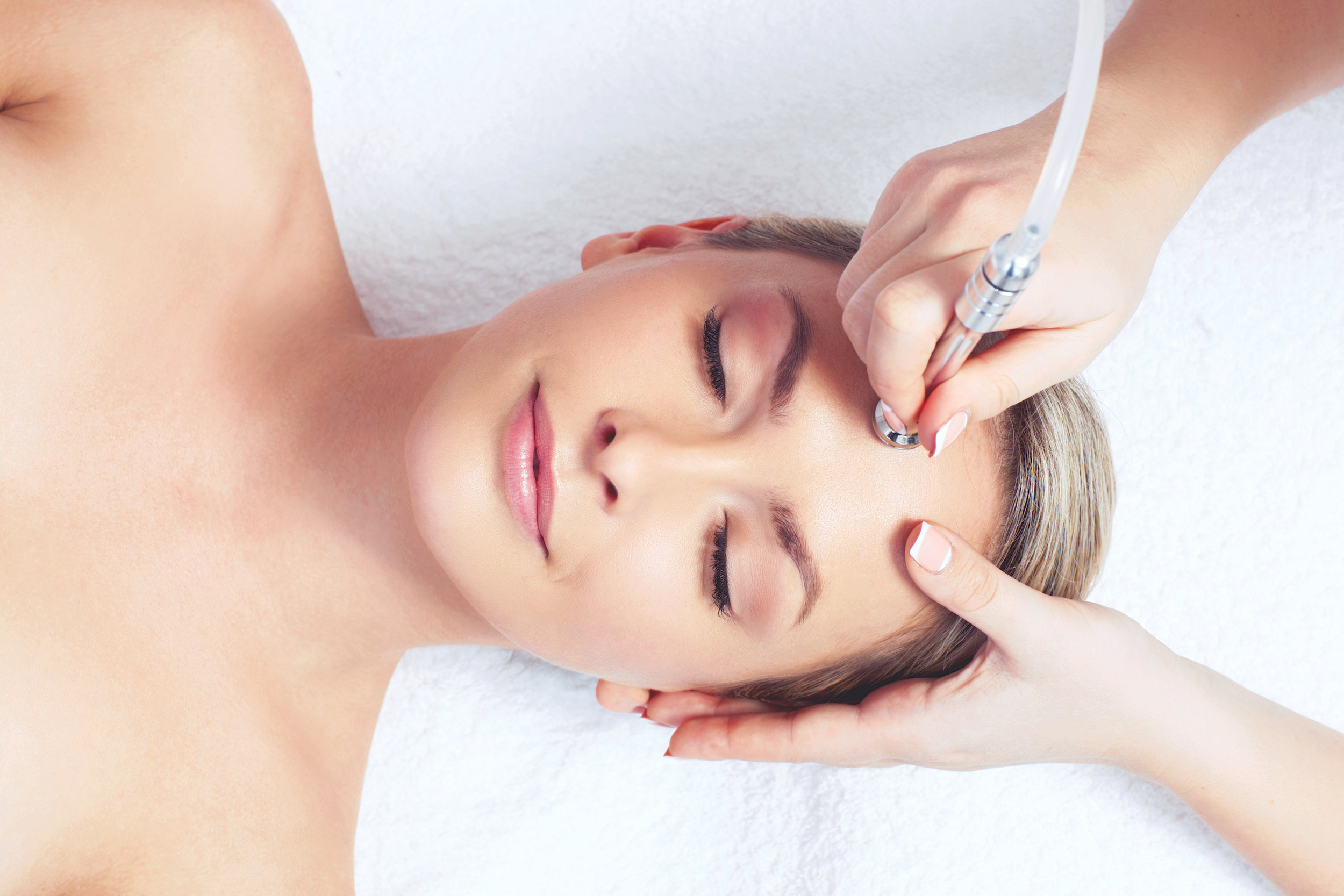 Exclusive Facials for all skin types - Customized facials to meet your skins' needs.