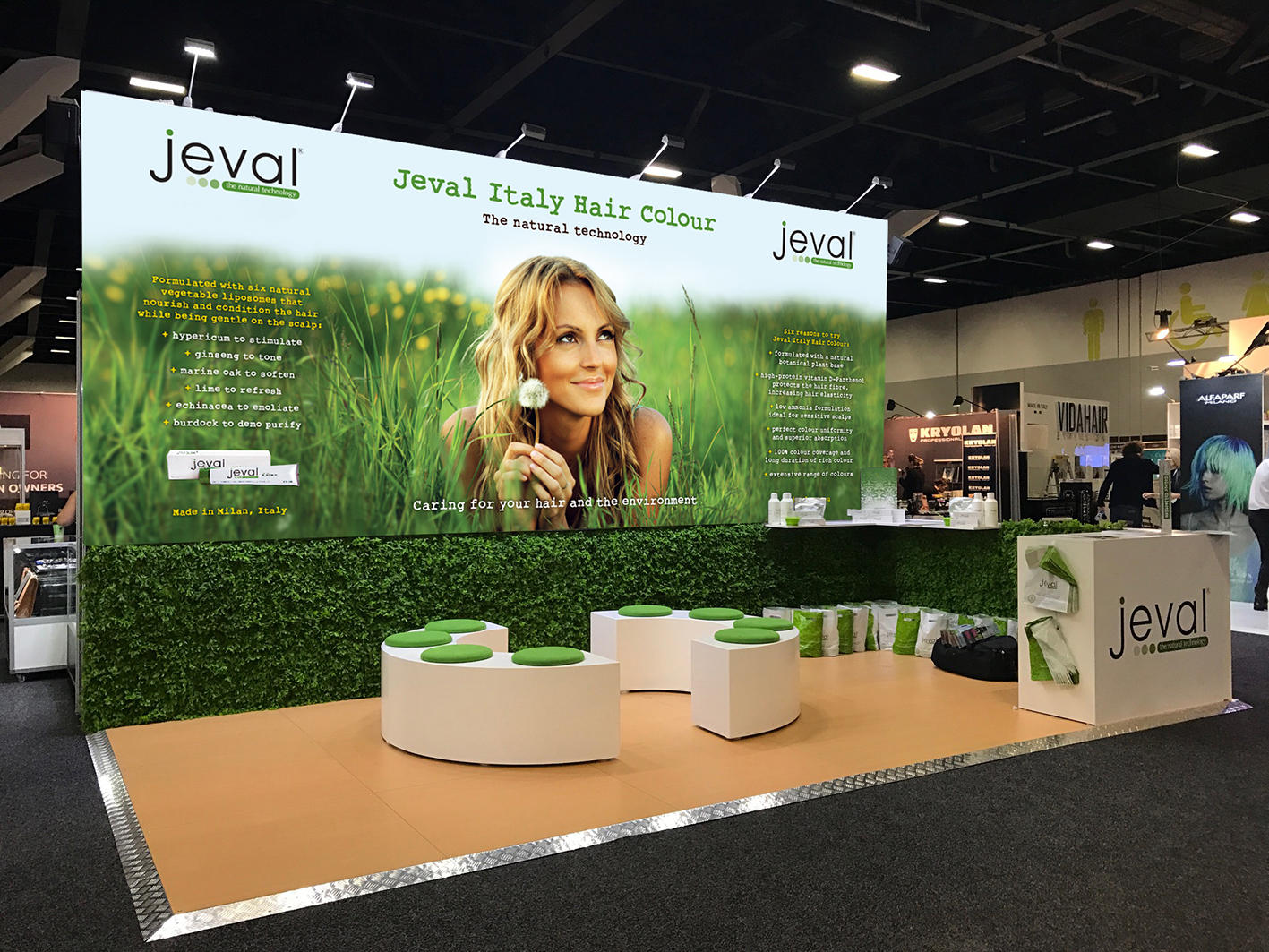 HAIR EXPO STAND DESIGN