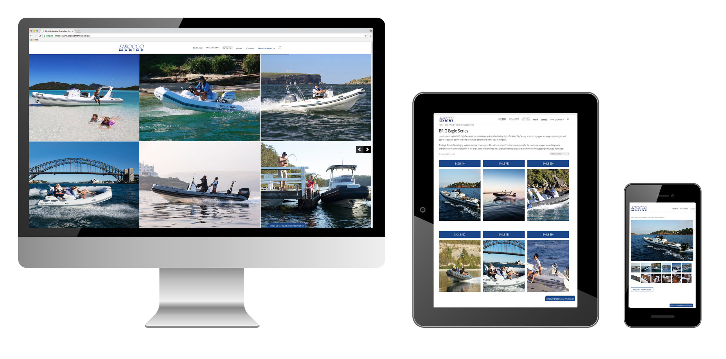 SIROCCO MARINE WEBSITE DESIGN