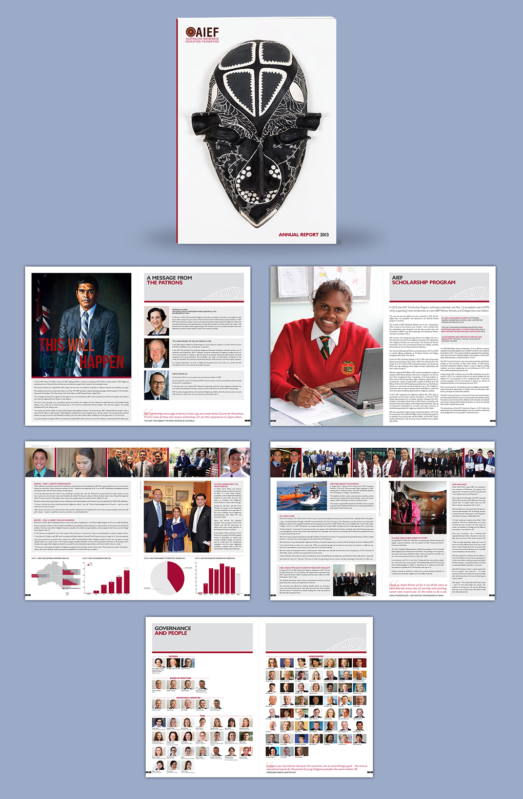 AIEF Annual Report Design