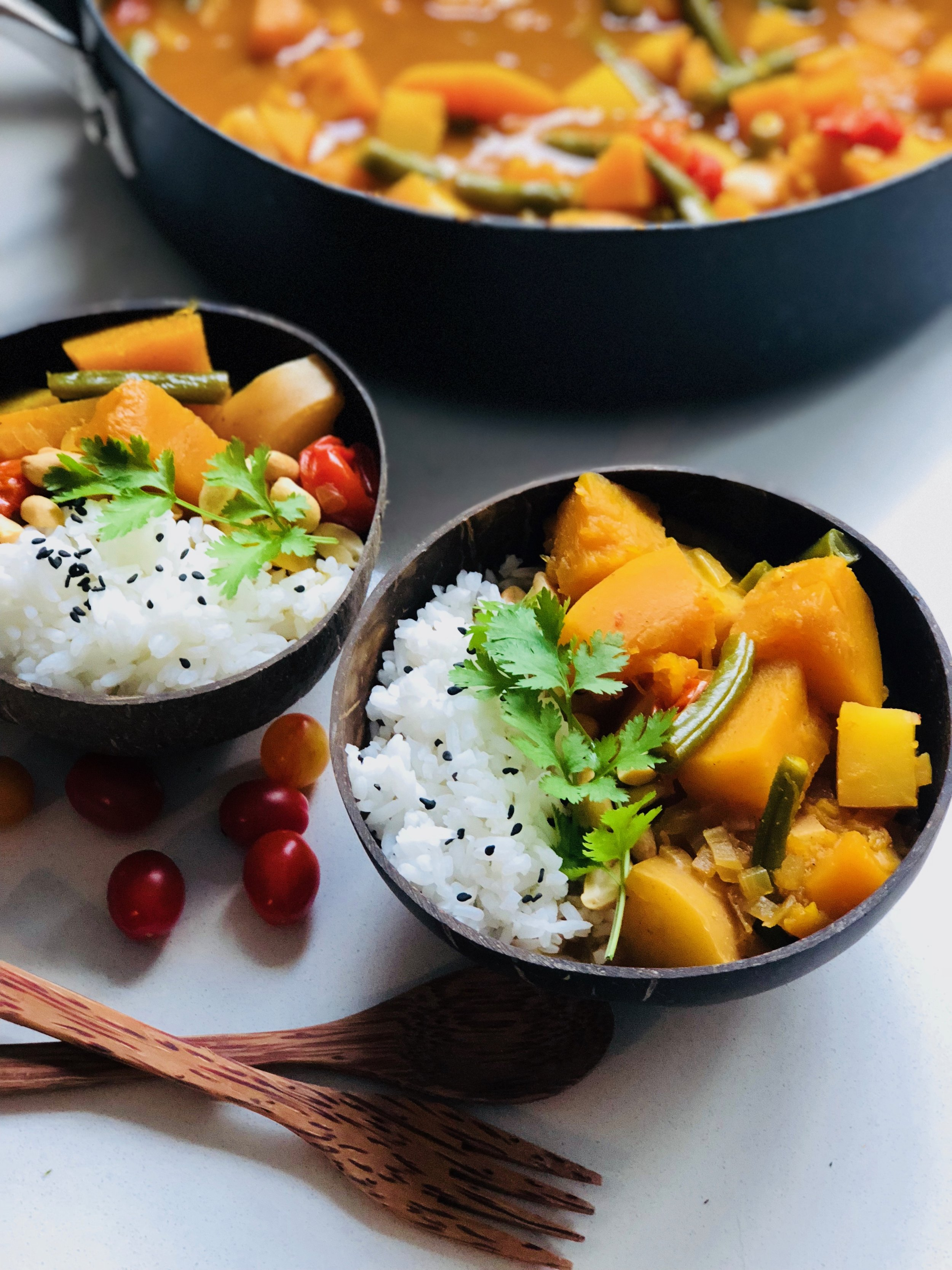 Spicy Coconut Curry