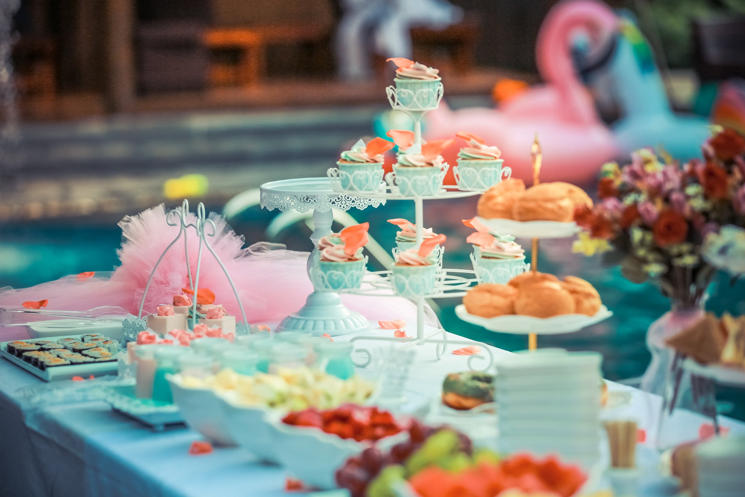 Full-Service Tea Party   View Packages