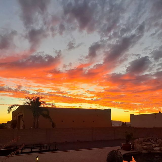 Such beautiful sky in arizonia