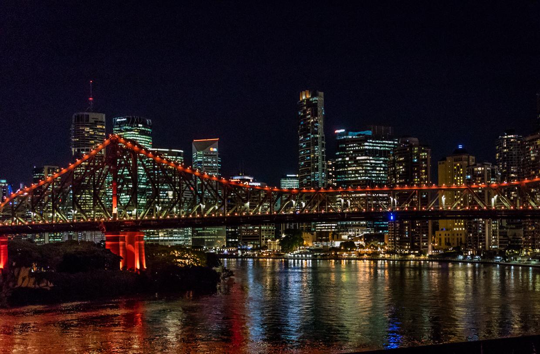 Story Bridge from Wilson's Lookout
