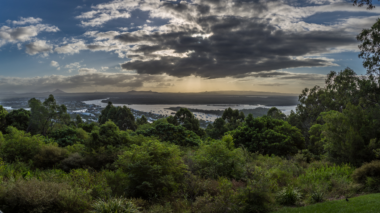 Panorama shot from the Laguna Lookout