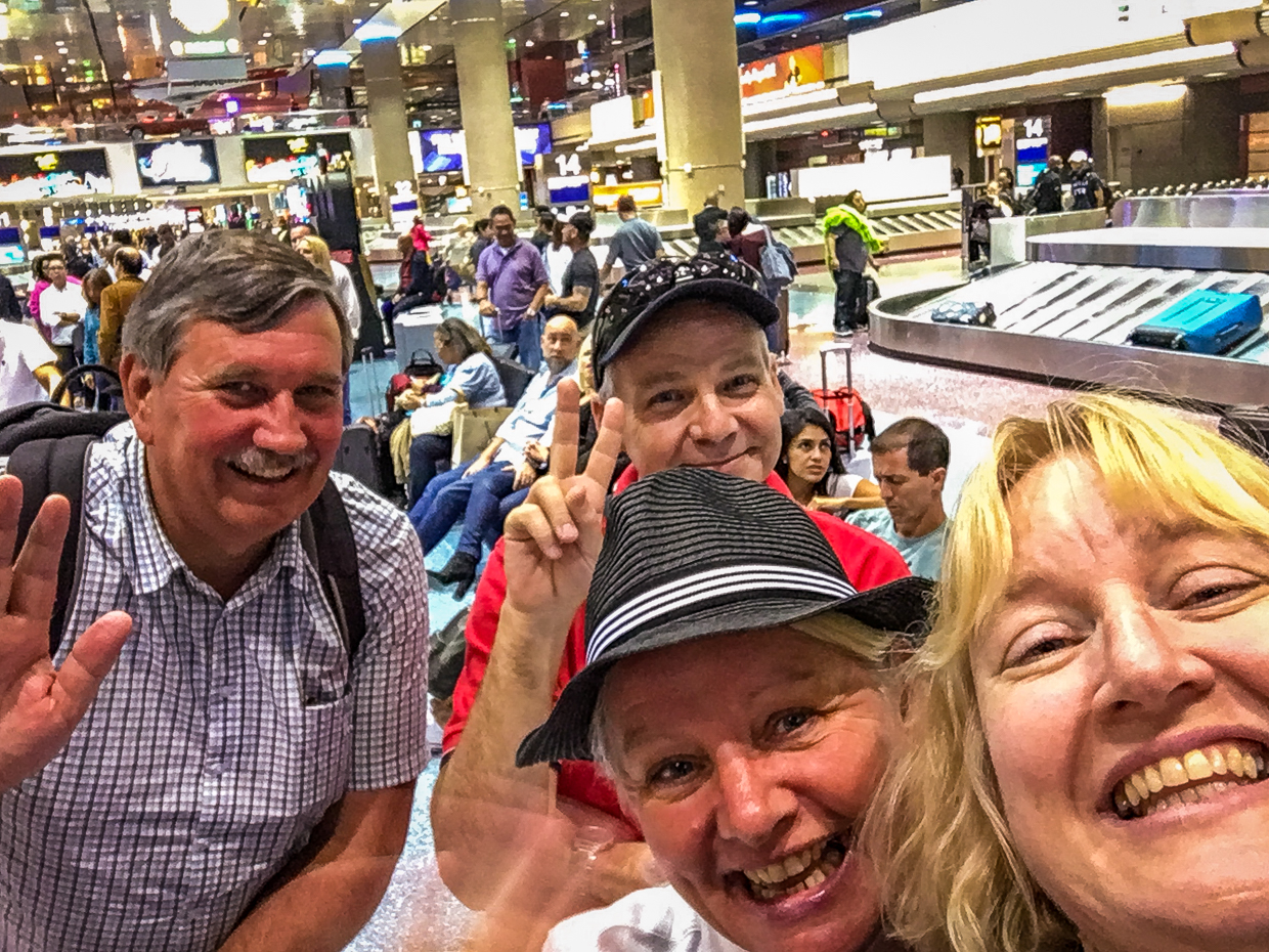 OMG that moment when your BFF arrives in Las Vegas for your 50th.