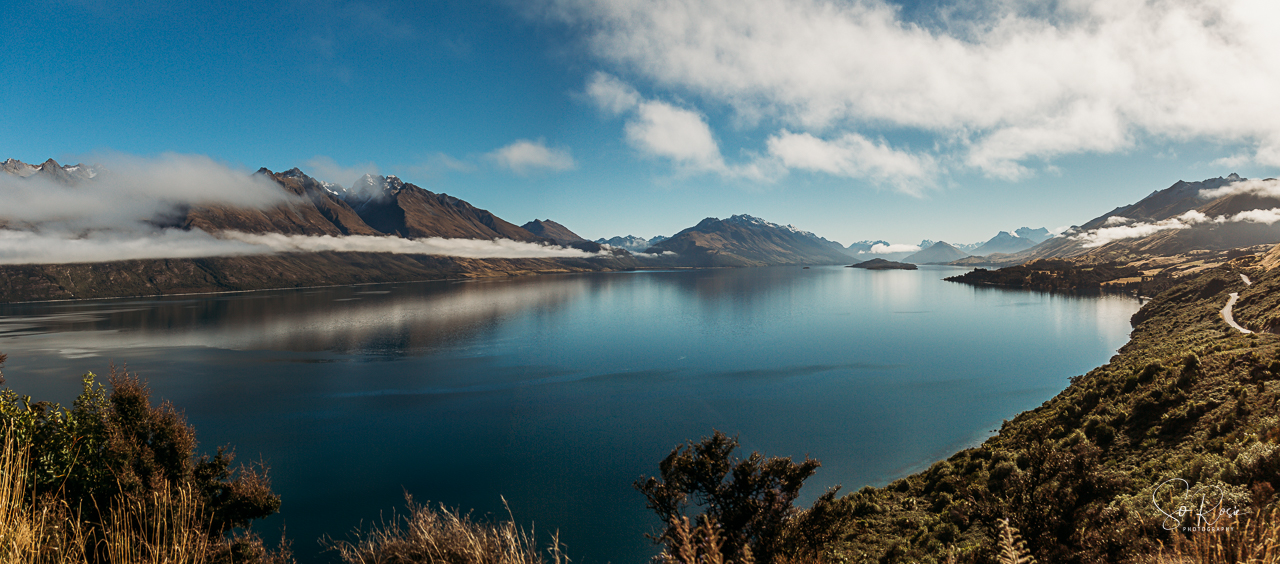 On the road to Glenorchy, Queenstown, New Zealand