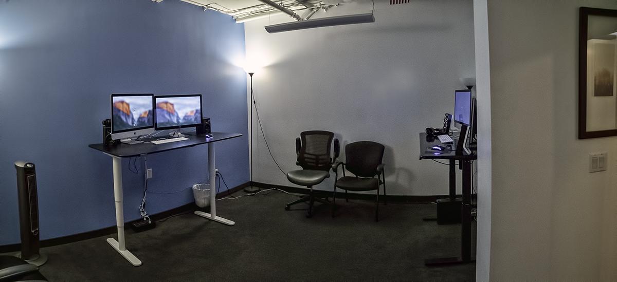 Edit 2 // iMacs and standing desks