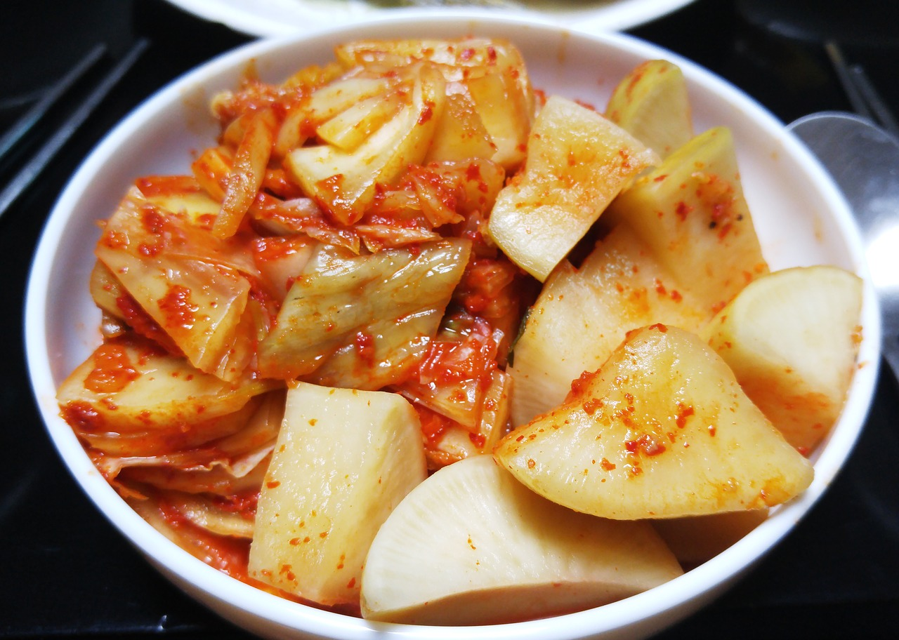 Koreans are serious about their kimchi. -