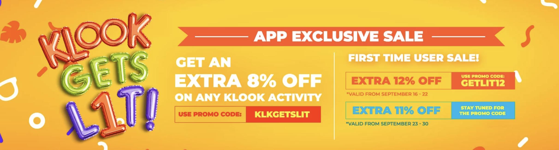 Screengrab from  Klook
